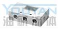 DFZ3-L10 DFZ3-L15 DFZ3-L20 油研三联单向阀组 YOUYAN三联单向阀组