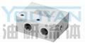 DFZ2-L10 DFZ2-L15 DFZ2-L20 油研双联单向阀组 YOUYAN双联单向阀组