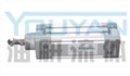 FNC40-400 FNC40-500 FNC40-600  油研标准气缸 YOUYAN标准气缸