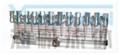 GPQ-###-N  油研有机玻璃给油分配器 YOUYAN有机玻璃给油分配器