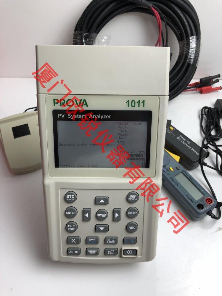 太阳能系统测试仪TES/泰仕太阳能系统I-V特性曲线测试PROVA-1011
