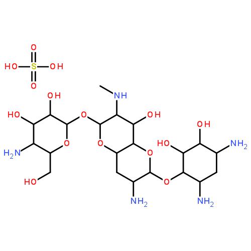 41194-16-5,硫酸安普霉素