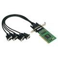 MOXA卡 CP-104UL 4口RS-232多串口卡中国代理13067868525